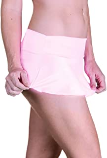 Delicate Illusions Sexy Micro Mini Stretch Standard and Plus Size Dance Short Skirt for Women (Order by Dress Size)