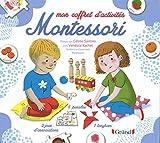 Mon coffret d'activités Montessori : Avec 1 tangram, 32 cartes, 5 puzzles