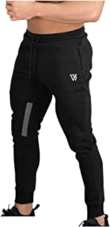 BROKIG Mens Vertex Gym Joggers Sweatpants Tracksuit Jogging Bottoms Running Trousers with Pockets