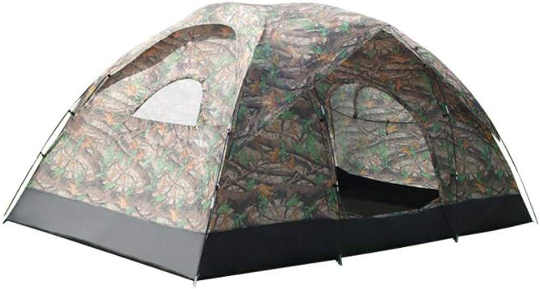 Camping Outdoor Zelte 380  220  180 cm Zelt Im Freien Zelt 8-10 Personen Groen Raum Manuelle Set Doppelzelt Wasserdicht Sonnenschutz Zelt ++