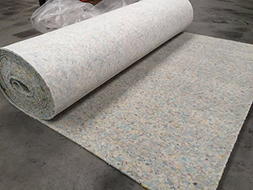 Luxury 8mm Thick PU Carpet Underlay Rolls