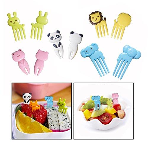 Tenedores Plastico Niños Marca OFKPO