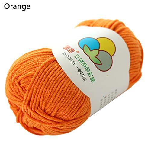 TwoCC-Lana,paquete esencial de bolas de lana suave - Hilo de ...