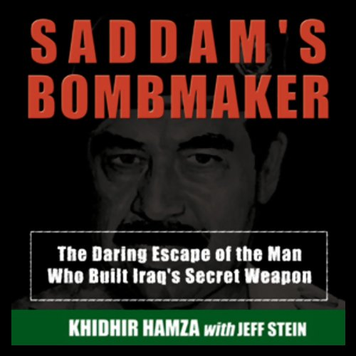 Saddam's Bombmaker audiobook cover art