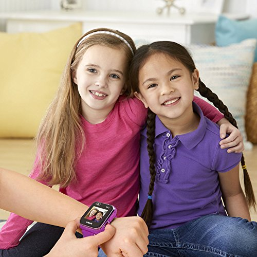 VTech KidiZoom Smartwatch DX2 Special Edition Floral Birds with Bonus Vivid Violet Wristband, Great Gift For Kids, Toddlers, Toy for Boys and Girls, Ages 4, 5, 6, 7, 8, 9 8