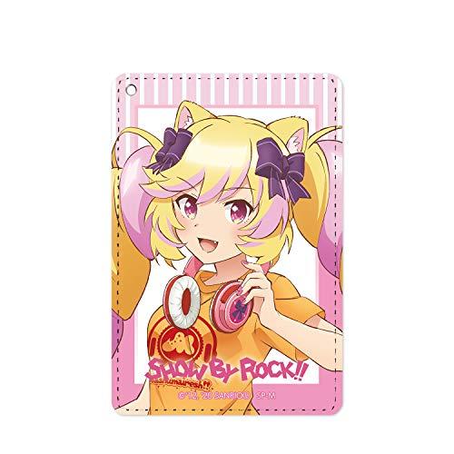 SHOW BY ROCK!! 描き下ろしイラスト マシマヒメコ ヘッドフォンver. 1ポケットパスケース