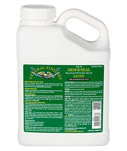 General Finishes Arm-R-Seal Oil Based Topcoat, 1 Gallon, Satin -  ASGA