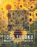 1000 SUDOKU: medio - difícil - experto: Para adictos a los números   9x9 Clásico Puzzle   Rompecabeza de Lógica