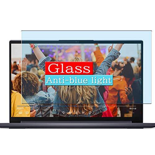 VacFun Filtro Luz Azul Vidrio Templado Protector de Pantalla Compatible con Lenovo Yoga Slim 750i 15 15.6' Visible Area, 9H Cristal Screen Protector(cobertura no completa)