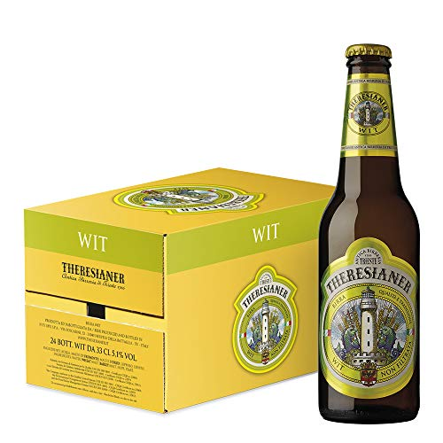 Wit non filtrata Theresianer Italienisches ungefiltertes Bier (24 flaschen 33 cl.)
