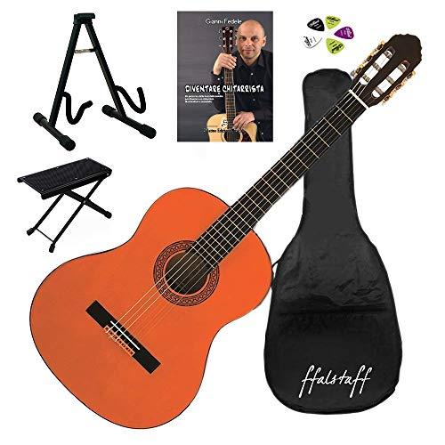 EKO CS 10 Pack klassieke gitaar 4/4 met ffalstaff ® 4/4 Kit 3