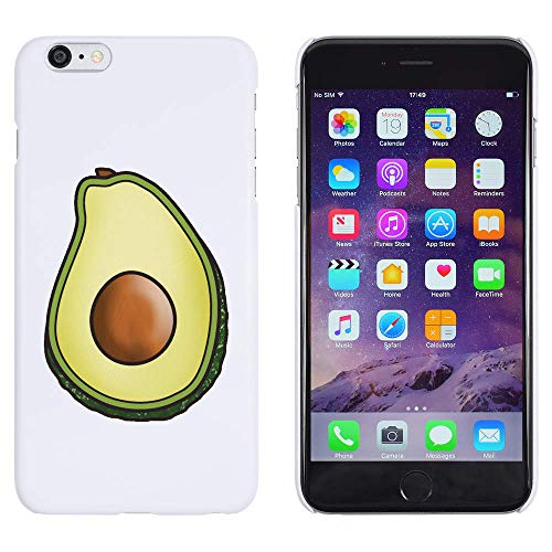 Azeeda Blanco 'Aguacate' Funda / Carcasa para iPhone 6 Plus & 6s Plus (MC00183700)