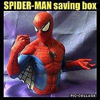 スパイダーマン セービングボックス 貯金箱 バストバンク スタチュー