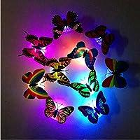 AllIwant Creative 3D Butterfly Sticker Wall Light
