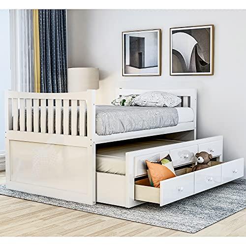 Rhomtree Twin Captain's Bed