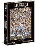 Clementoni - Puzzle Vaticano 1000 Piezas Michelangelo: Juicio Universal (39250)