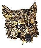 VENTURA TRADING Lobo Mascarilla Hombre-Lobo Novedad Disfraz Partido Mascarilla máscara de Perro Máscara de Hombre Lobo