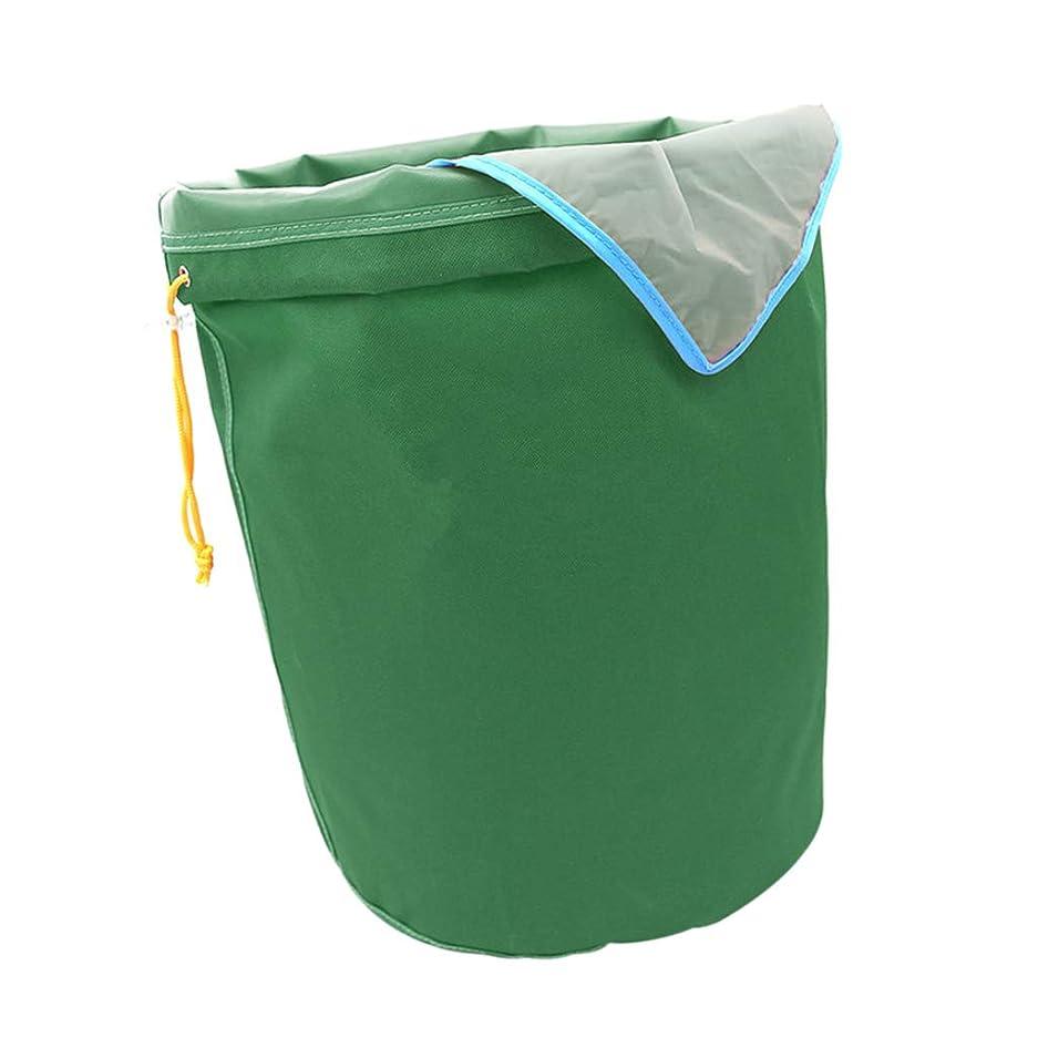 補充行進最近B Blesiya 5ガロン 濾過袋 植物滓 精華の抽出バック メッシュ袋 ハブ 果物 収穫袋 園芸用品 - グリーン190ミクロン