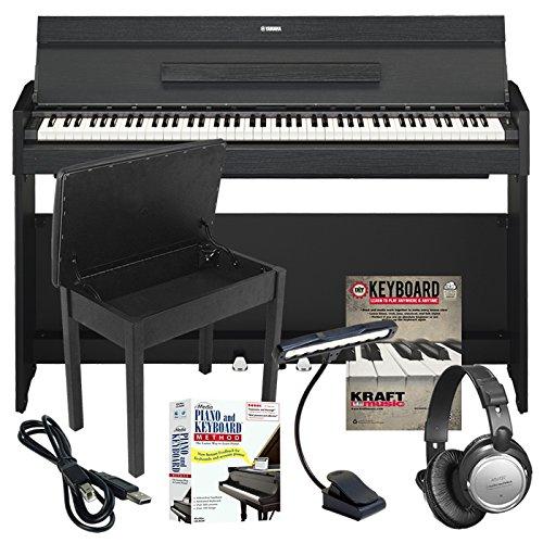 Yamaha Arius YDP-S52 Digital Piano LEARNING BUNDLE w/ Lesson Software