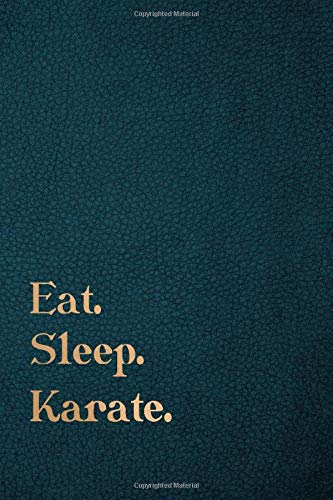 Eat Sleep Karate: (6 x9) 120 pages - Lined journal