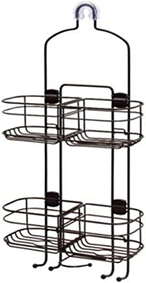 Interdesign 60466 Chrome Classico Suction Cup Shower Shelves,No 60466
