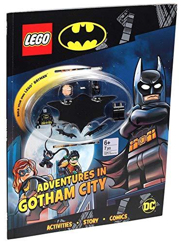 LEGO BATMAN ADV IN GOTHAM ACTIVITY BOOK & MINIFIGURE (Activity Book With Minifigure)