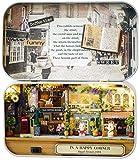 Junean DIY Dollhouse Kit Hecho a Mano Pieza de Madera Casa de muñecas Set Mejor Regalo de cumpleaños de Navidad-Segundo