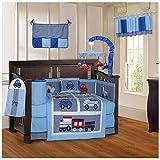BabyFad Transport 10 Piece Baby Crib Bedding Set