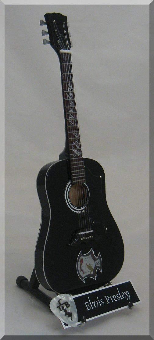 Cheap ELVIS PRESLEY Miniature Guitar Kem po w/Guitar Pick Black Friday & Cyber Monday 2019
