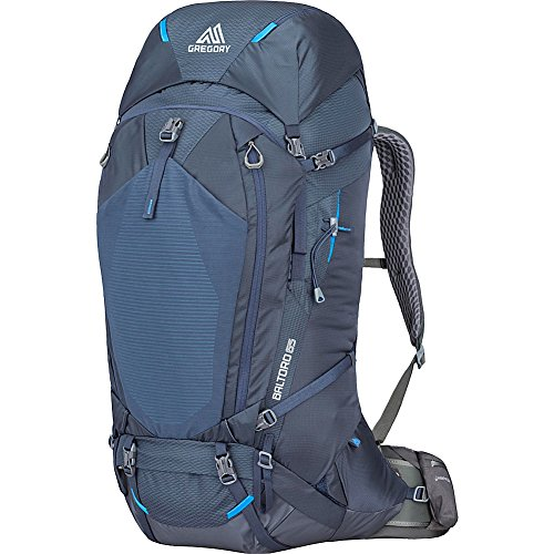 Gregory Mountain Products Men's Baltoro 65 Liter Backpack, Dusk Blue, Small