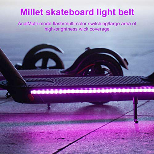 Tira luz LED, SUNJULY Scooter Eléctrico Impermeable