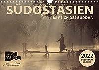 SUeDOSTASIEN Im Reich des Buddha (Wandkalender 2022 DIN A4 quer): Im Reich der guten Geister (Monatskalender, 14 Seiten )