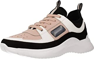 Zapatos de Mujer Zapatilla Ultra Rosa Negra Calvin Klein FW 19-20