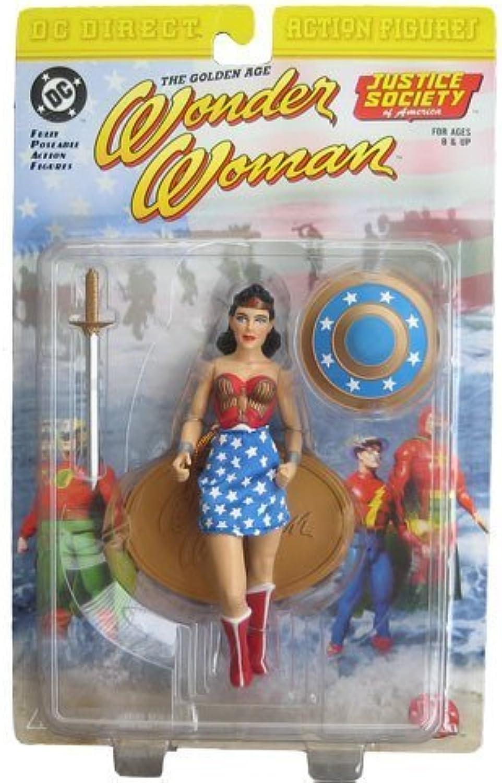 hasta un 70% de descuento JSA Wonder Woman oroen oroen oroen Age Figura by DC Direct  envío gratis
