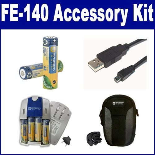 Olympus FE-140 Digital Camera Accessory US Max 82% OFF USB8PIN New life Includes: Kit