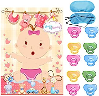 Baby Shower Party Favors and Game - Pin The Dummy on The Baby Game, Baby Shower Party Favors (Baby)