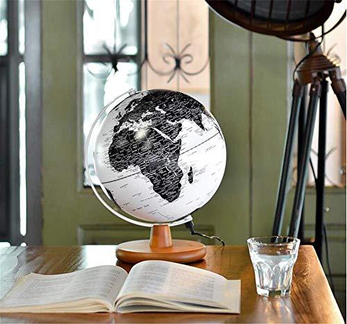 MKKSLR Wunderschön beleuchteter 20-cm-Globus für Kinder, leuchtender Globus für Kinder & Erwachsene & ndash; Interaktive Erdkugel für Bildung und Spaß, für Schule, Kinder, Familie