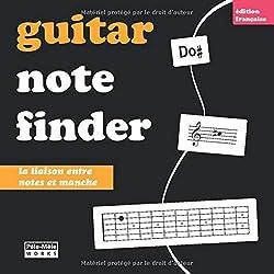 Guitar Note Finder: Apprendre les notes sur le manche (French Edition)