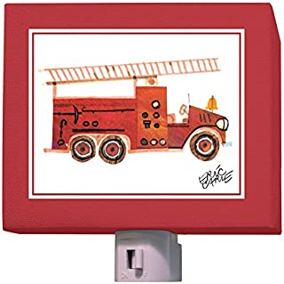 Oopsy Daisy Night Light, Red Fire Engine, 5