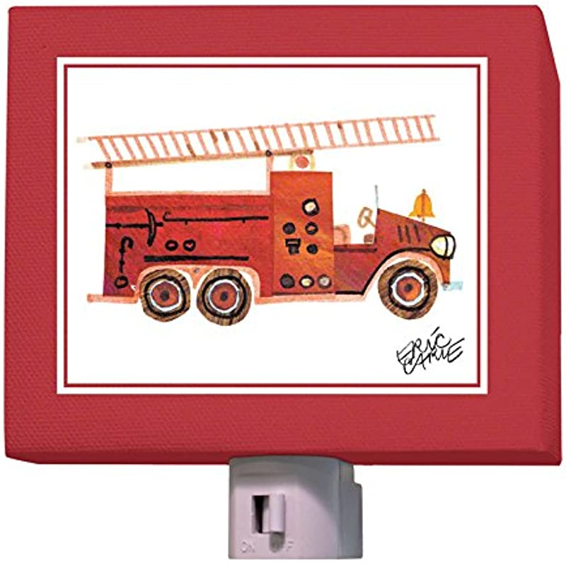 Oopsy Daisy Night Light Red Fire Engine 5 X 4