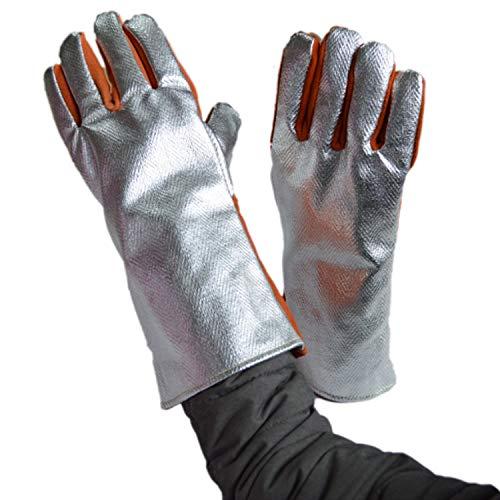 932° Extreme Hittebestendige Handschoenen Lassen Handschoenen Aluminium folie Fiber Keuken BBQ Handschoenen Oven Mitts