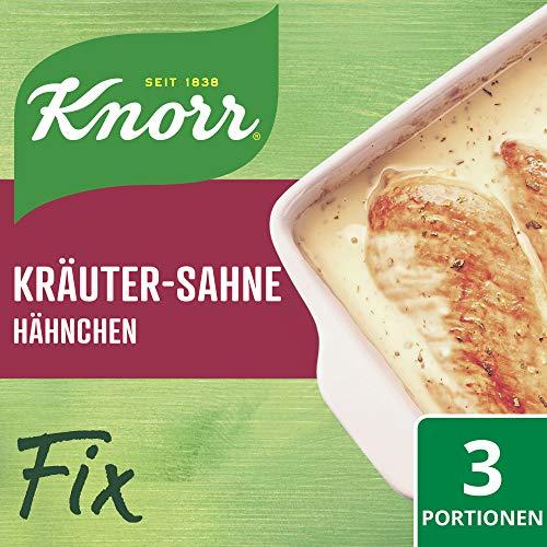 Knorr Fix Kräuter-Sahne Hähnchen 3 Portionen (1 x 28 g)