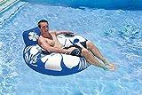 Poolmaster Day Dreamer Swimming Pool Inner Tube Lounge, Blue