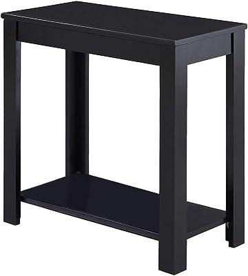 Amazon Com Crown Mark Pierce Chairside Table Espresso