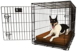 Crate dog bed for chewers