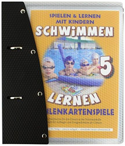 Schwimmen lernen 5: laminierte Zahlenkartenspiele: Spielen & Lernen mit Kindern (Schwimmen lernen - laminiert / Spielen & Lernen mit Kindern)