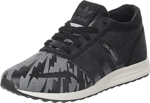 Adidas Los Angeles, Unisex-Erwachsene Sneaker, Schwarz - schwarz grau - Größe: 48 EU