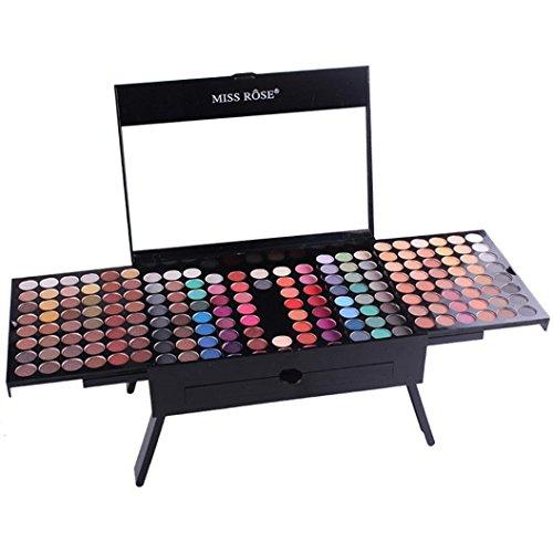 Lanowo 180 Farben Matt Eyeshadow Augenbraue Make up Set Profi Schminkset (B)
