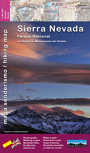 P.N. Sierra Nevada 1: 40.000: la Alpujarra, Marquesado del Zenete