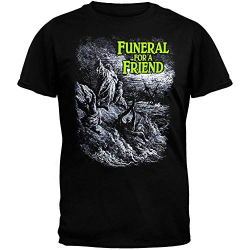 Old Glory Men's Funeral for A Friend - Shipwreck 07 Tour T-Shirt - X-Large...